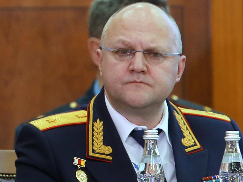 Руководитель Главного следственного управления Следственного комитета России по Москве Александр Дрыманов