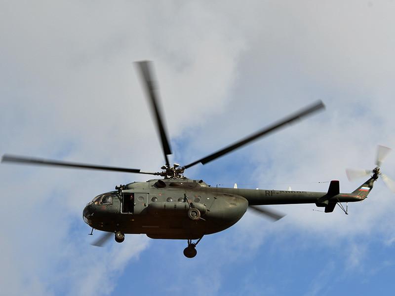 Вертолет Ми-8 потерпел крушение в в Итум-Калинском районе Чечни