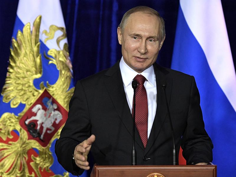 Президент России выразил благодарность ФСБ за то, что спецслужбе удалось сохранить в секрете разработку тех фантастических военных разработок, о которых Владимир Путин сообщил в своем послании Федеральному собранию 1 марта