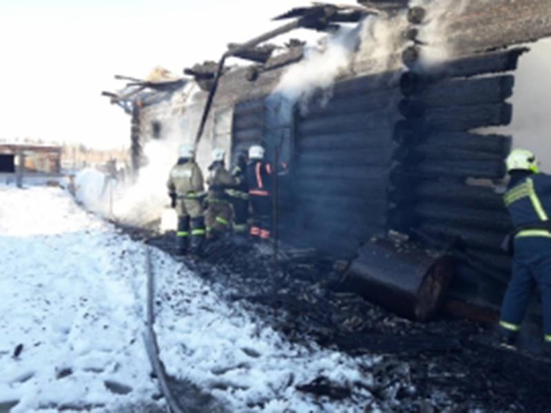 В одной из деревень Медведевского района республики Марий Эл после тушения пожара были обнаружены тела двух девочек 2010 и 2014 годов рождения