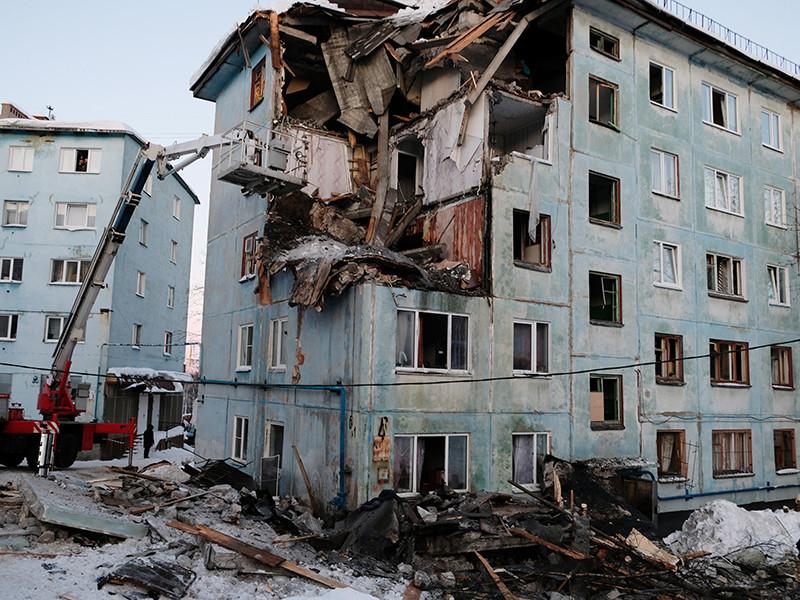 Пострадавший при взрыве мурманской пятиэтажки признался, что трое жильцов погибли из-за его попытки суицида