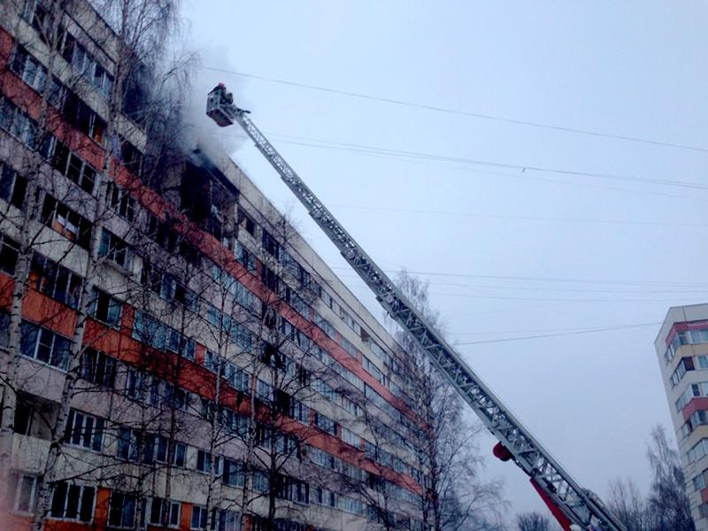 Из-за взрыва газа в жилом доме в Петербурге обрушились стены