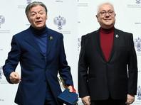 Медведев поздравил Збруева и Винокура одинаковыми словами: яркий талант и обаяние, мастерство импровизации