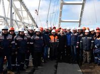 Аркадий Ротенберг пообещал открыть автомобильную часть Керченского моста после 9 мая