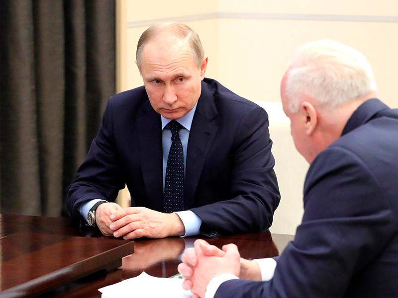Владимир Путин провел встречу спредседателем СК Александром Бастрыкиным иминистром здравоохранения Вероникой Скворцовой о ситуации в Кемерово.
