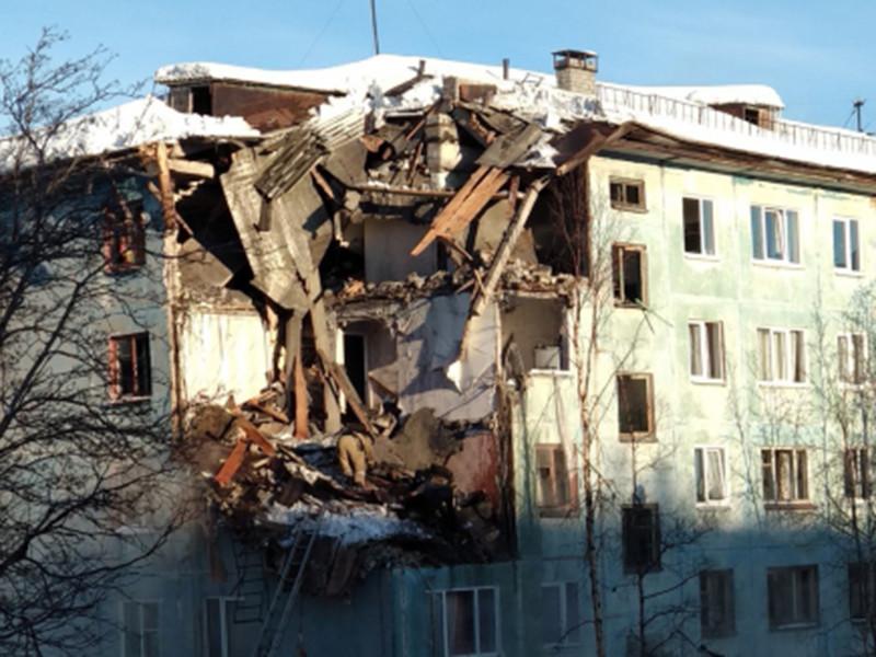 В Мурманске днем во вторник, 20 марта, произошел взрыв бытового газа в жилом многоквартирном доме