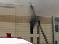 """Пожар в четырехэтажном торговом центре """"Зимняя вишня"""" в Кемерово произошел 25 марта. Погибли 64 человека, среди них 41 ребенок"""
