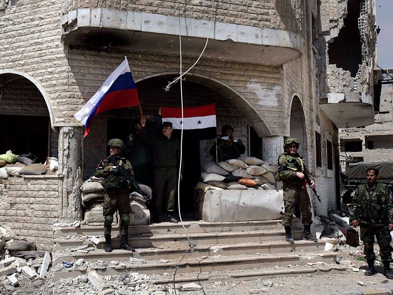 Генштаб РФ объявил об отправке в Думу российской военной полиции