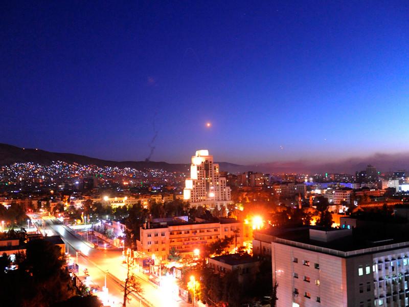 В Минобороны заявили, что по Сирии в ходе ночного удара было выпущено более сотни крылатых ракет