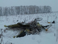 """Лайнер, направлявшийся из Москвы в Орск, разбился 11 февраля через несколько минут после вылета из аэропорта """"Домодедово"""""""