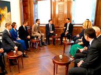 """Президент Сирии Башар Асад на встрече с российской делегацией рассказал, что его дети в прошлом году отдыхали в лагере """"Артек"""" в Крыму"""