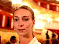 Балерина Ольга Смирнова во время сбора труппы Большого театра