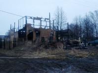 Пять человек погибли в воскресенье на пожаре в частном жилом доме под Великим Новгородом