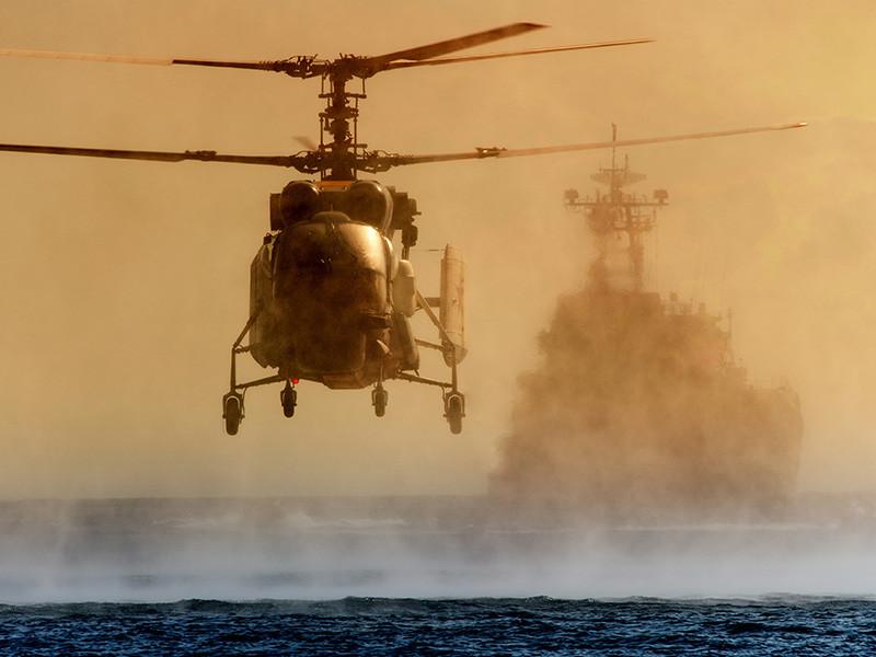 В акватории Балтийского моря разбился вертолет Ка-29, по предварительным данным, принадлежавший Минобороны РФ
