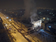 """Пожар в ТЦ """"Зимняя вишня"""" произошел 25 марта. В результате погибли 64 человека, в том числе 41 ребенок. Еще 79 человек пострадали, получив травмы и отравление продуктами горения, из них - 27 детей"""
