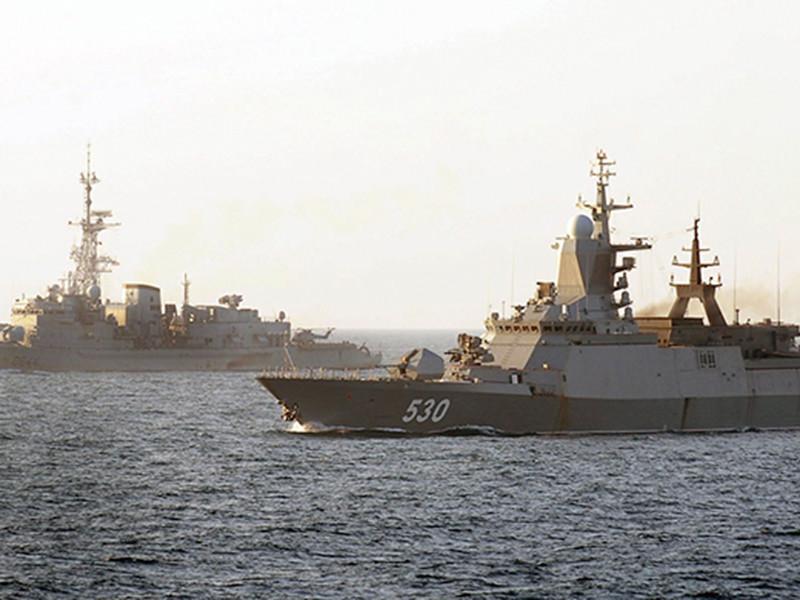 Корветы Балтийского флота на крупных военных учениях ВМФ России, которые проходят с 4 по 6 апреля вблизи побережья Калининградской области, Латвии, Швеции и Дании, выполнили накануне боевые стрельбы по имитированным воздушным целям