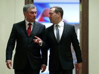 Председатель Государственной думы РФ Вячеслав Володин призвал российское правительство адекватно ответить США на введение новых антироссийских санкций