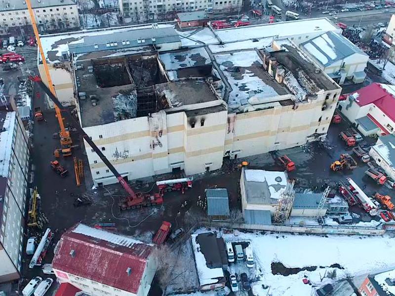 """Пожар в ТРЦ """"Зимняя вишня"""" в Кемерово произошел 25 марта. По официальным данным, жертвами стали 64 человека, в том числе 41 ребенок"""