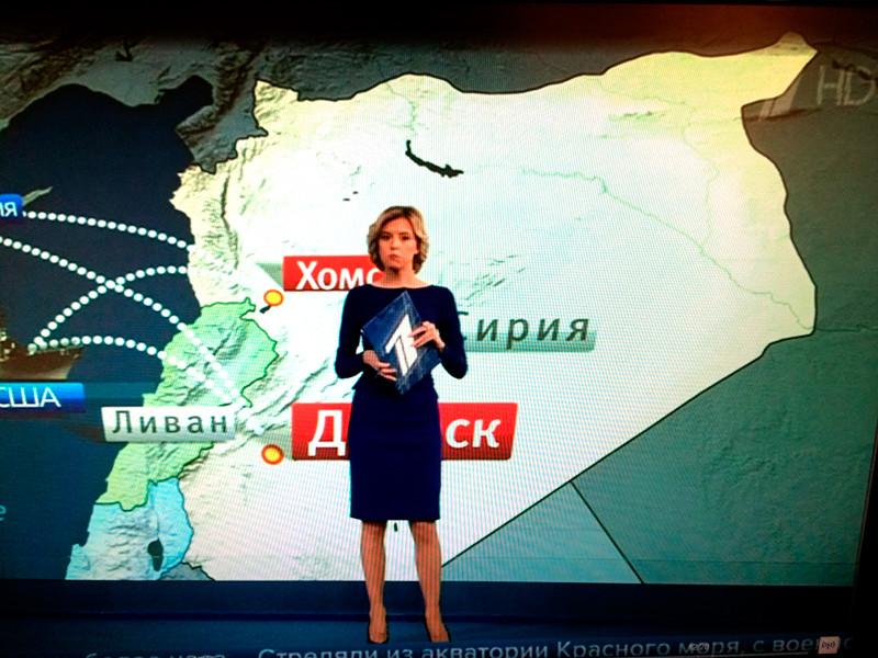 Российские телеканалы изменили сетку вещания и устроили спецэфииры в связи с ракетным ударом по территории Сирии