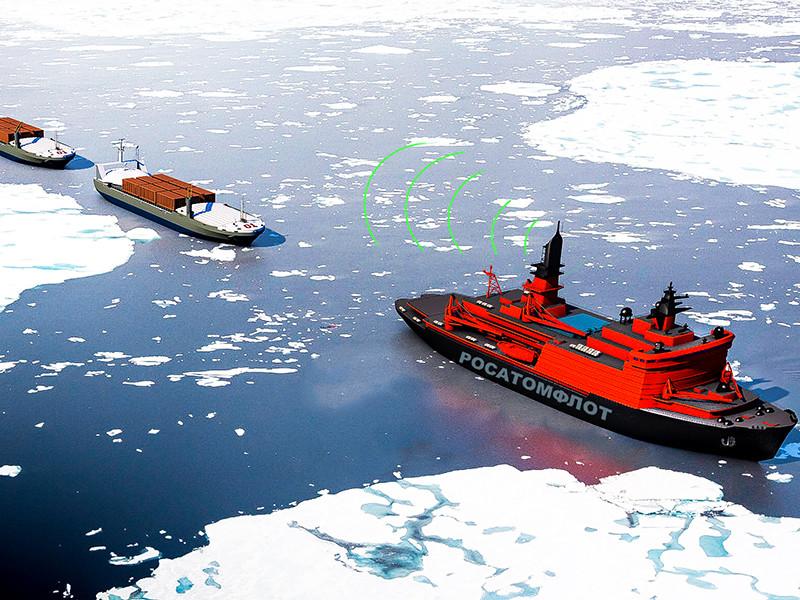 В Росатоме создадут цифровую модель безэкипажного судна для Арктики