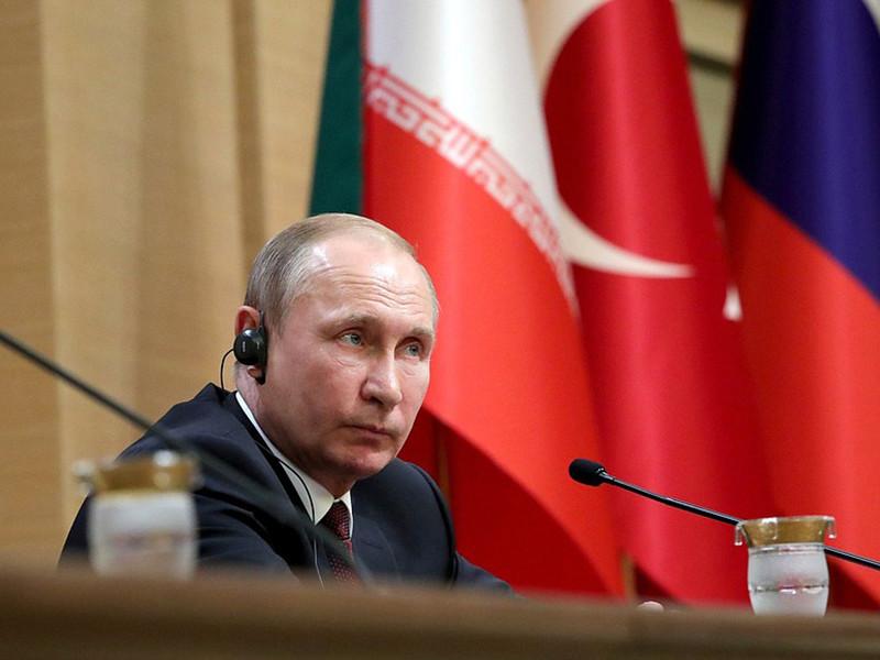 Путин и Эрдоган обсудили ракетные удары США и их союзников по Сирии