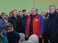 Глава МЧС извинился перед родителями детей, погибших при пожаре в кемеровском ТЦ