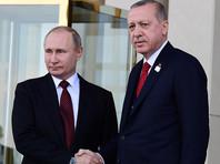 Путин и Эрдоган договорились соблюдать соглашение по иранской ядерной программе, несмотря на односторонний выход США
