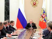 Путин обсудил с Совбезом РФ выход США из иранской сделки и удары Израиля по Сирии
