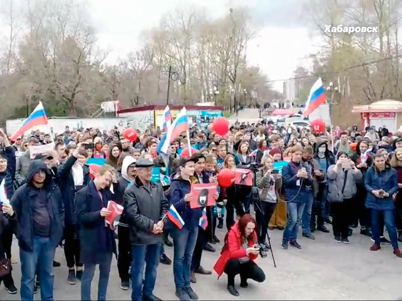 Хабаровск, 5 мая 2018 года