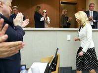 Госдума на прошлой неделе досрочно прекратила полномочия предыдущего главы Счетной палаты Татьяны Голиковой, которая, произнося прощальную речь, растрогалась и пустила слезу