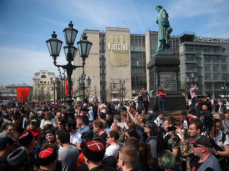 Кубанские казаки отрицают присутствие на митинге оппозиции в Москве 5 мая