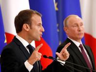 Макрон после встречи с Путиным признал, что следит за судьбой осужденного в РФ украинского режиссера Олега Сенцова