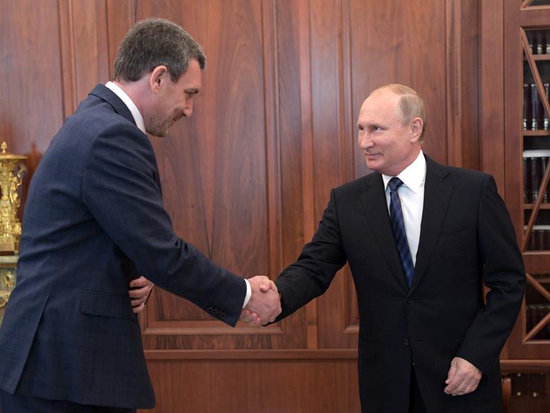Президент РФ Владимир Путин назначил Василия Орлова временно исполняющим обязанности губернатора Амурской области