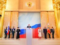 Президент России Владимир Путин, официально вступивший сегодня в должность главы государства, внес в Госдуму предложение по кандидатуре нового главы правительства РФ