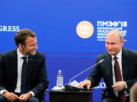 "Путин расшутился на ПМЭФ: ""бандит"" Шохин, ""провокатор"" из Bloomberg, футбол по правилам дзюдо"