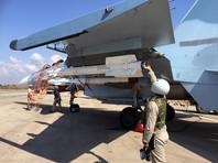 "Су-30 на авиабазе ""Хмеймим"", октябрь 2015 года"