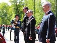 Путин, Вучич и Нетаньяху возложили венки к Могиле Неизвестного Солдата