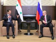 Владимир Путин и Башар Асад, 17 мая 2018 года
