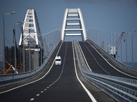 Открытый для движения Крымский мост сфотографировали из космоса и нанесли на карты (ФОТО)