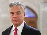 Посол США Хантсман отменил свое выступление на Петербургском экономическом форуме