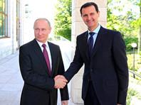 Асад прибыл в Сочи и провел переговоры с Путиным