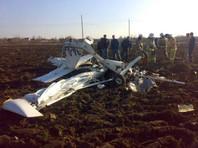 В Рязанской области разбился самолет, проводивший сельскохозяйственные работы