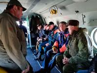На сайте администрации Бурятии также говорится, что утром в воскресенье Цыденов вылетел в Курумканский район в связи с введенным там режимом чрезвычайной ситуации