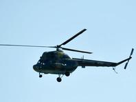 В Забайкалье вертолет Ми-2 совершил вынужденную посадку и сгорел, пилот и пассажиры спаслись