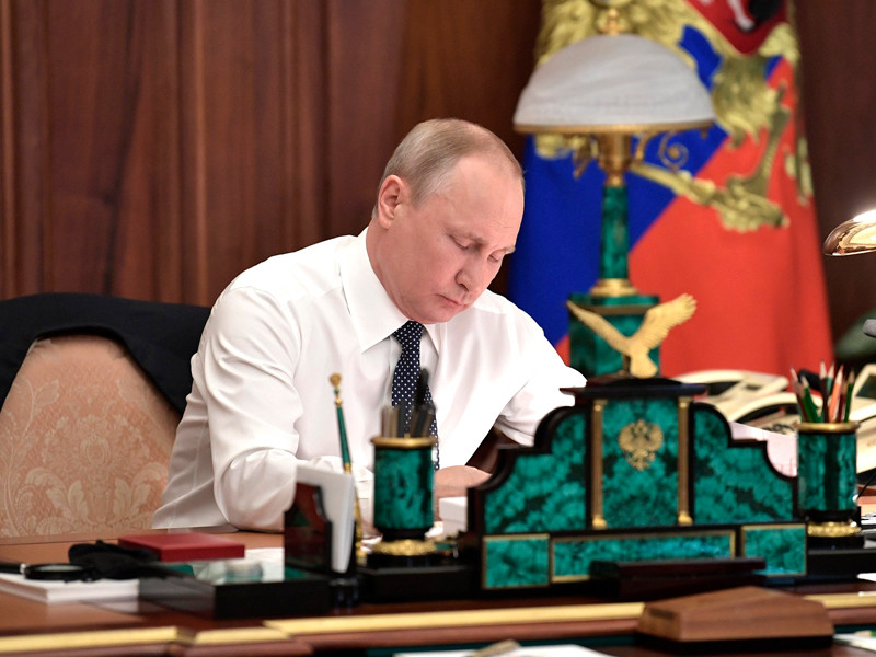Владимир Путин, 7 мая 2018 года