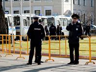 Москва и Петербург огораживаются перед акцией Навального