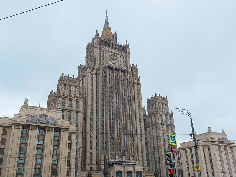 Министерство иностранных дел РФ выразило соболезнование родным и близким российского журналиста Аркадия Бабченко, убитого в Киеве.