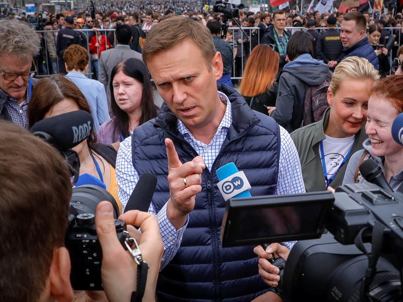 Алексей Навальный, 30 апреля 2018 года
