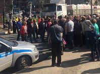 Нижегородцы перекрыли проспект в знак протеста против требования доплат за отопление
