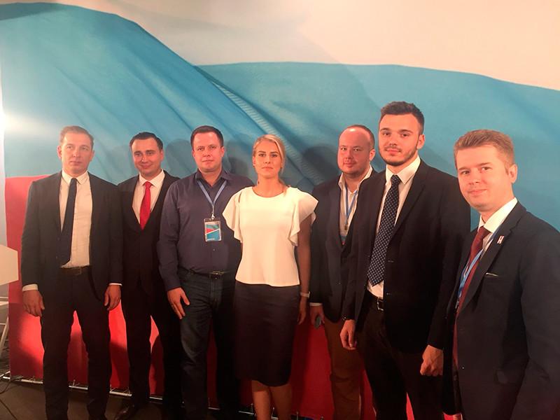 """Соратники Навального объявили на съезде о новом названии своей партии: """"Россия будущего"""""""